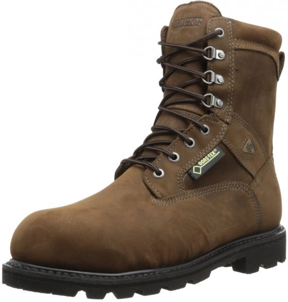 a90ccac992d Rocky Men's Ranger Steel Toe Insulated GORE-TEX Boots,Brown,10.5 M US