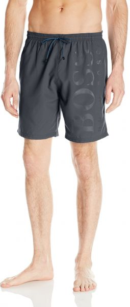 cbd703688 Hugo Boss BOSS Men's Orca Solid Swim Trunk, Charcoal, Large | Souq - UAE
