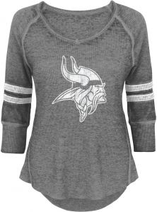 NFL by Outerstuff NFL Junior Girls Relaxed 3 4 Thermal Top c913aaeec
