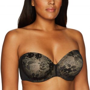 b2219101a89 Curvy Couture Women s Plus Size Strapless Sensation Multi-Way