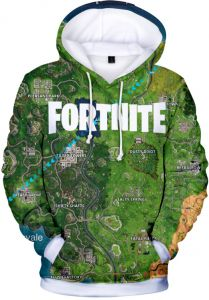 3e1410d6bf7 Fortnite games fashion casual loose hooded sweater for men and women
