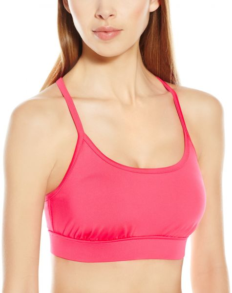258226adcb658 PL Movement by Pink Lotus Women s Zen Strappy Back and Medium Support  Sports Bra Top