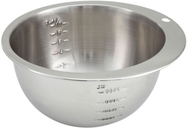 Winco 10-Cup Measuring Bowl, Stainless Steel | KSA | Souq