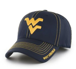 fce7a5d82a449c OTS NCAA West Virginia Mountaineers Adult Start Line Center Stretch Fit  Hat