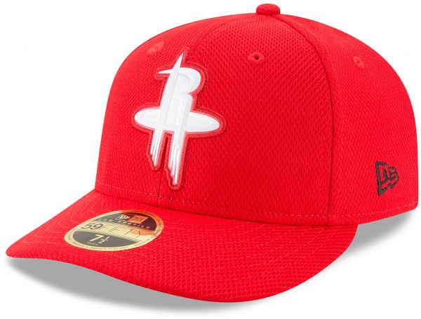 NBA Houston Rockets Adult Bevel Team Low Profile 59FIFTY Fitted Cap ... 6cea12e7ba7f