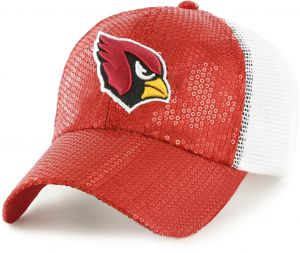 91e4ec550c9 OTS NFL Arizona Cardinals Women s Brilliance Challenger Adjustable Hat