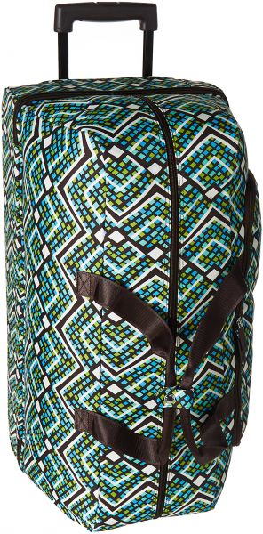 fc373bff9f Vera Bradley Women s Lighten up Large Wheeled Duffel