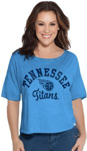 Touch by Alyssa Milano NFL Tennessee Titans Women s Second Base Reversible  Tee 3ae795958