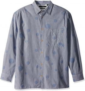 bbf2da6dd80 French Connection Men s Long Sleeve Bubble Button Down Shirt