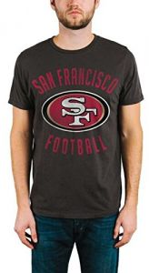 8576442d26c Junk Food NFL San Francisco 49ers Men s Kick Off Crew Short Sleeve Tee
