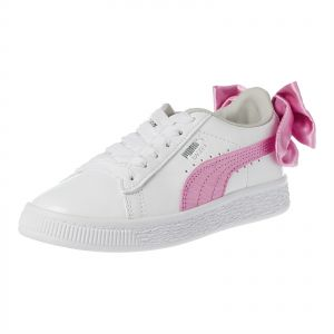 b75d272ffade2d Puma Basket Bow Patent AC PS Sneakers for Girls