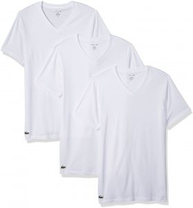 Lacoste Pack of 3 Slim Fit T-Shirt For Men - White 4275fcc114a