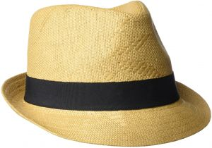 059e5874cc5ec Buy panama straw fedora hat with black lace band