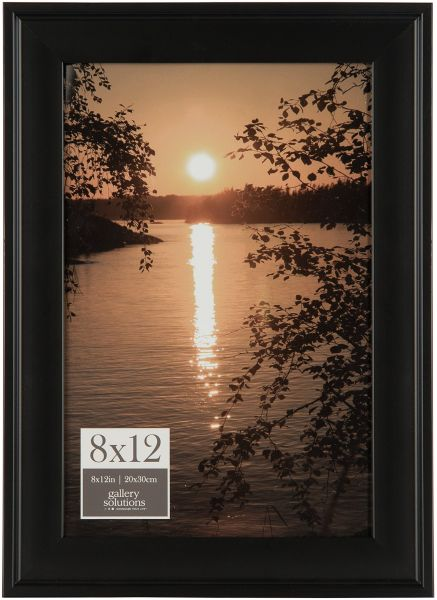 Pinnacle Frames And Accents 16fw1050 Photo Frame 8 X 12 Black