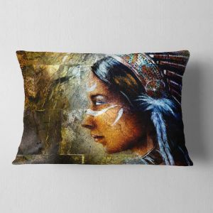 Cushion Cover Printed on Both Side Sofa Pillow Insert Designart CU6287-16-16 Light Green Autumn Landscape Printed Throw Lumbar Cushion Pillow Cover for Living Room 16 in x 16 in