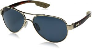 fe811988ff8 Costa del Mar Loreto Polarized Aviator Sunglasses