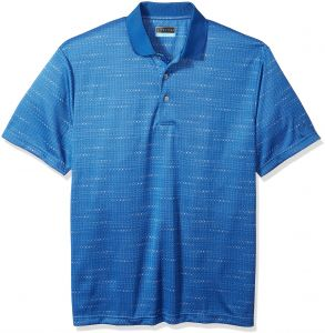PGA TOUR Men s Short Sleeve Mini Geo Jacquard with Space Dyed Fabric 415dd2111