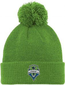 05bc91df6a3 MLS Seattle Sounders FC R S8FMS Youth Boys Cuffed Knit Hat With Pom