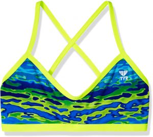 f87a2ad9c8664 TYR Women s Serenity Crosscut Tieback Top