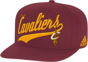 fae2a4bf13565 NBA Cleveland Cavaliers Men s Tail Sweep Flat Brim Snapback Hat