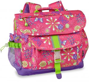 Bixbee Kids Backpack School Bag Erfly Garden Pink Medium