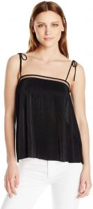 Guess Womens Sleeveless Naples Ties Top
