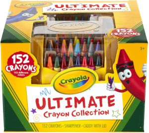Crayola Ultimate Crayon Collection 152 Pieces Art Set Gift