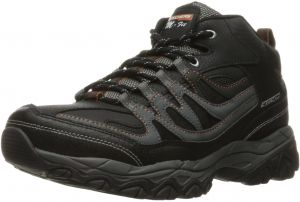 finest selection a2a9a 9f1b7 Skechers Sport Men s Afterburn M. Fit Mid Oxford,Black Charcoal,7.5 M US