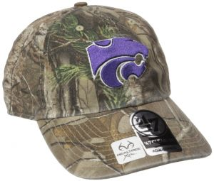 NCAA Kansas State Wildcats Realtree Clean Up Adjustable Hat 1f6d06aac57e
