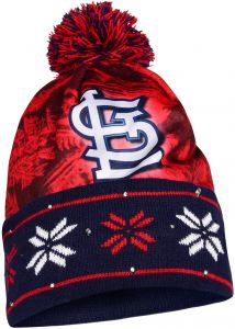 on sale 156ff 27717 MLB St. Louis Cardinals Light Up Knit Hat