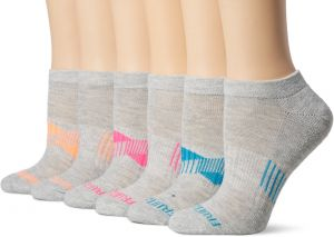 ba9432a1c Fruit of the Loom Everyday Active No Show Socks-6 Pair Pack