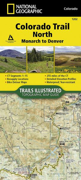 Colorado Trail North Monarch To Denver National Geographic