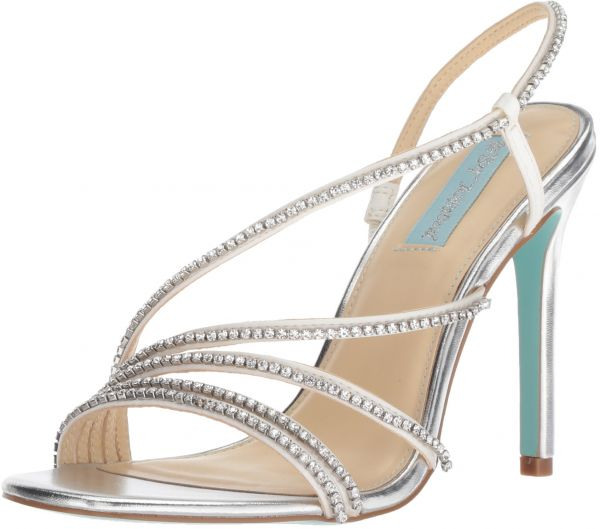 1365d84c16b Blue by Betsey Johnson Women s SB-ACES Heeled Sandal