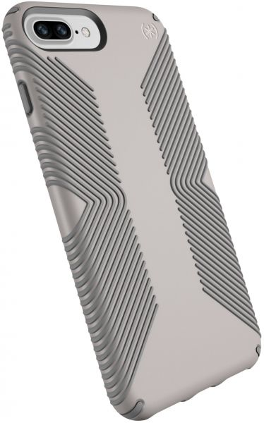 d969cfea4e0b Speck Products Presidio Grip Cell Phone Case For IPhone 8 Plus  7 Plus 6S  Plus 6 Plus- CATHEDRAL GREY SMOKE GREY