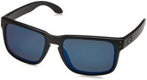 050b1c835e Oakley mens Holbrook OO9102-52 Iridium Polarized Sport Sunglasses