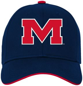 best sneakers 08085 69f06 NCAA Mississippi Old Miss Rebels Kids   Youth Boys Basic Structured  Adjustable Hat, Dark Navy, Kids One Size