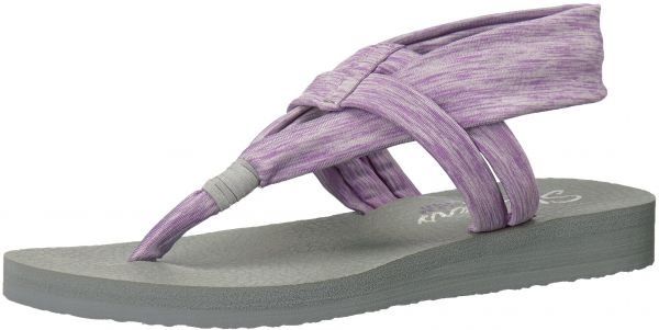 cheap for discount 81f64 2b056 Skechers Cali Women s Meditation-Studio Kicks Flat Sandal,Lavender,9 M US    Souq - UAE
