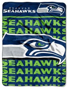 57c41d79a22 The Northwest Company Officially Licensed NFL Seattle Seahawks Livin Large  Micro Raschel Throw Blanket