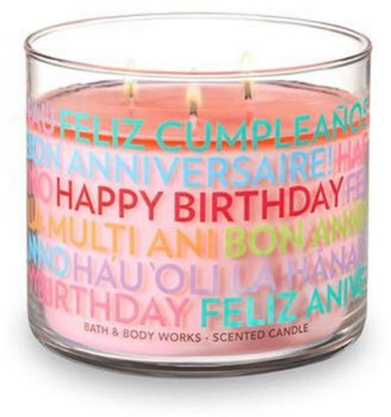 Bath And Body Works HAPPY BIRTHDAY Scented Candle 411g