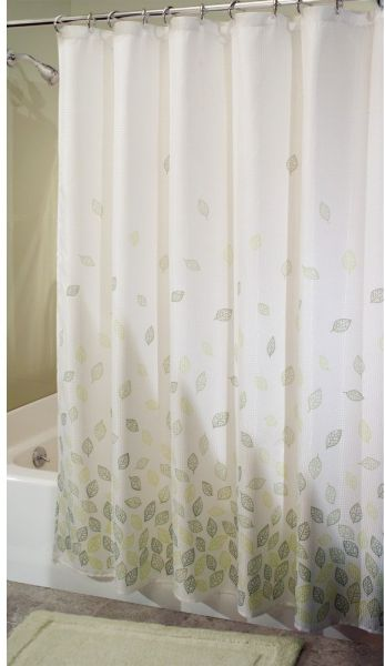 InterDesign Botanical Shower Curtain 72 Inch By Verde
