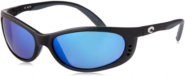 63936eeca2 Costa del Mar Unisex-Adult Fathom FA 11 OBMP Polarized Iridium Oval  Sunglasses