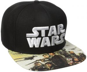 Bioworld Men s Star Wars Rogue Sublimated Bill Snapback Cap 51d7a341a6e0