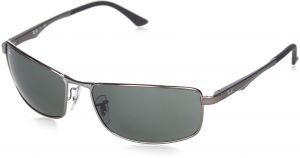 d328ca98dd9 Ray-Ban 0RB3498 004 71 Rectangular Sunglasses