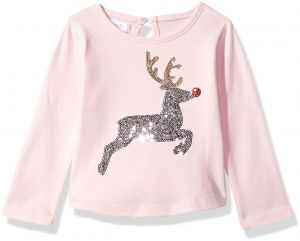 Mud Pie Baby Toddler Girls  Christmas Holiday Long Sleeve T-Shirt 509f65844a07