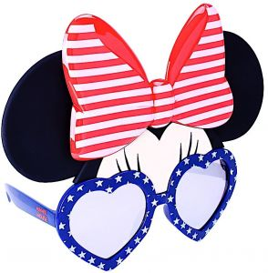 a435b0aa8b3 Sunstaches Disney Minnie Mouse Red White and Blue Character Sunglasses