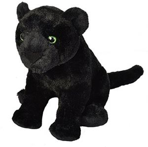 be00fc6a Wild Republic Black Jaguar Plush, Stuffed Animal, Plush Toy, Gifts for  Kids, Cuddlekins 12 inches