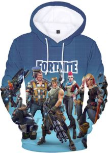 abc6a92f7 3D Digital Printing Guard Hot Fortress Night Fortnite Game Around Hooded  Sweater Loose Hoodie