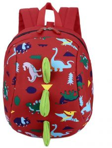Kids Toddler Backpack with Safety Harness Playful Preschool Kids Lunch Bag  Walking Safety Harness Toddler Leash Anti-lost Package Dinosaur 1e024215ce1