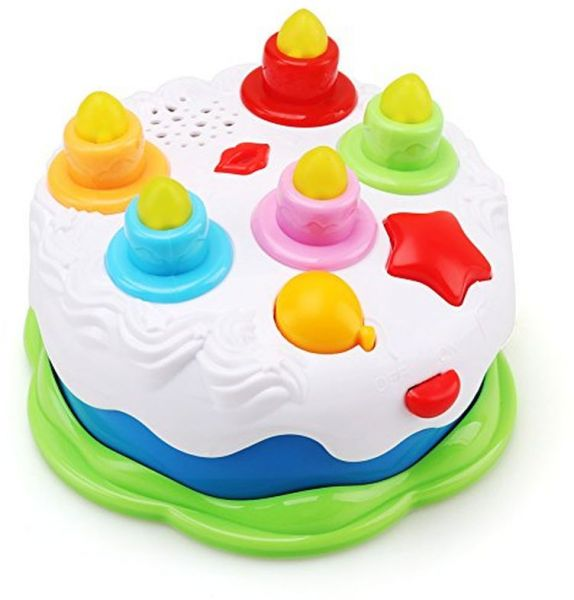 Amy Benton Kids Birthday Cake Toy Baby Toddlers Counting Candles