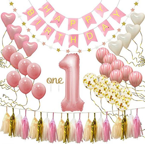 First Birthday Decorations Party Supplies Balloon